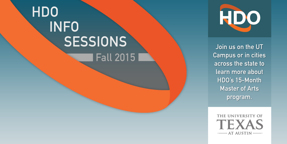 HDO Information Sessions