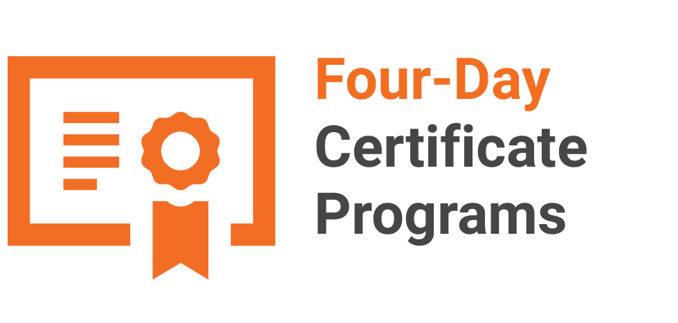 Four-Day Certificate Programs for Professionals, led by UT Austin's Top Faculty. Open enrollment courses at The University of Texas at Austin. Professional development and executive education classes and workshops at UT Austin.